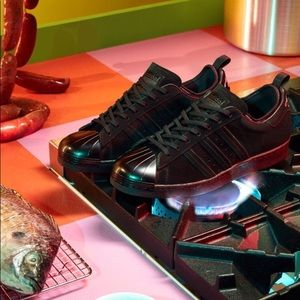 new concept 46d35 29fde adidas Shoes - ADIDAS x EDDIE HUANG SUPERSTAR 80S CORE BLACK